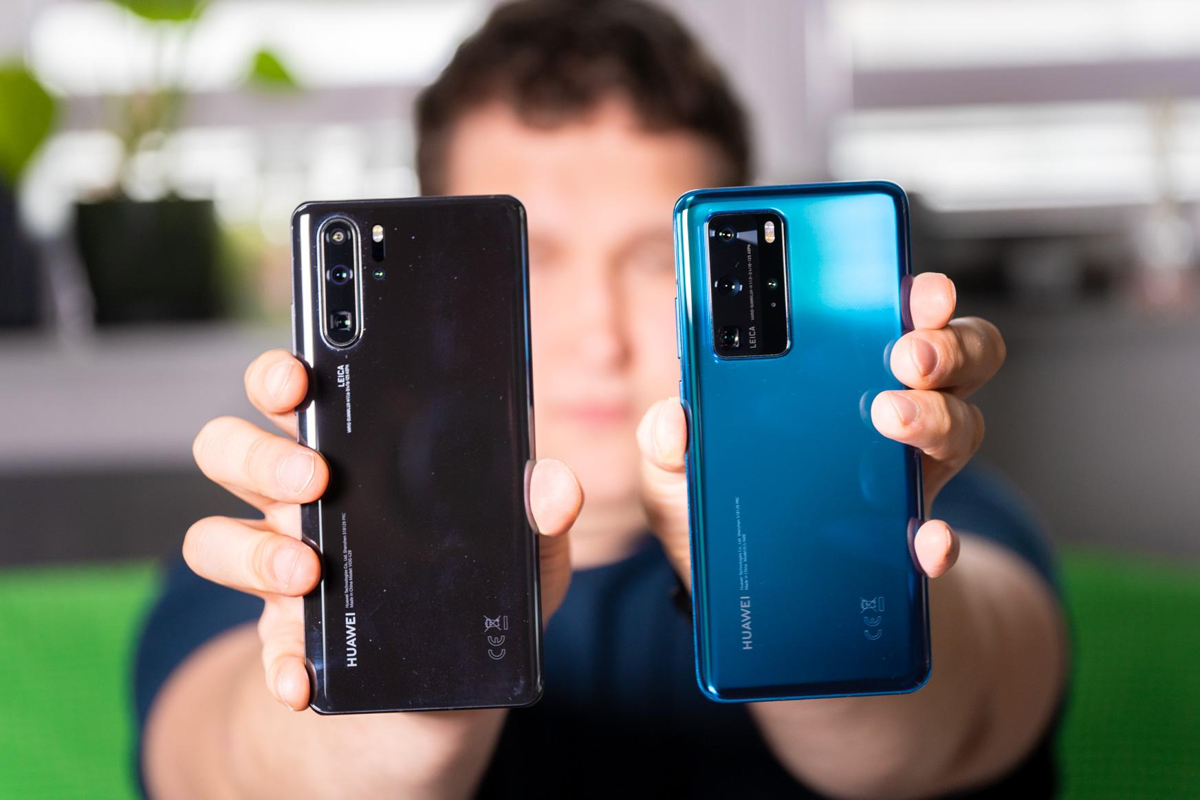 Smartphone arrakastatsua da, oso garbi aurre egin ondoren.  Huawei P40 Pro - lehen inpresioak