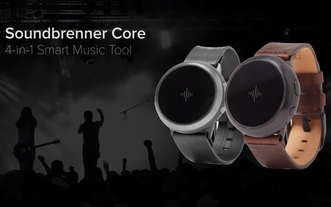 Smartwatch hau musikarientzat da: Soundbrenner Core