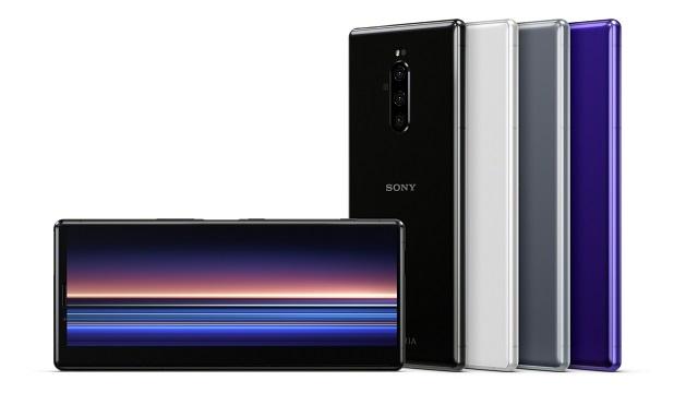 Sony Xperia 2/ 1R-k bereizmen handia duen pantaila eskainiko du