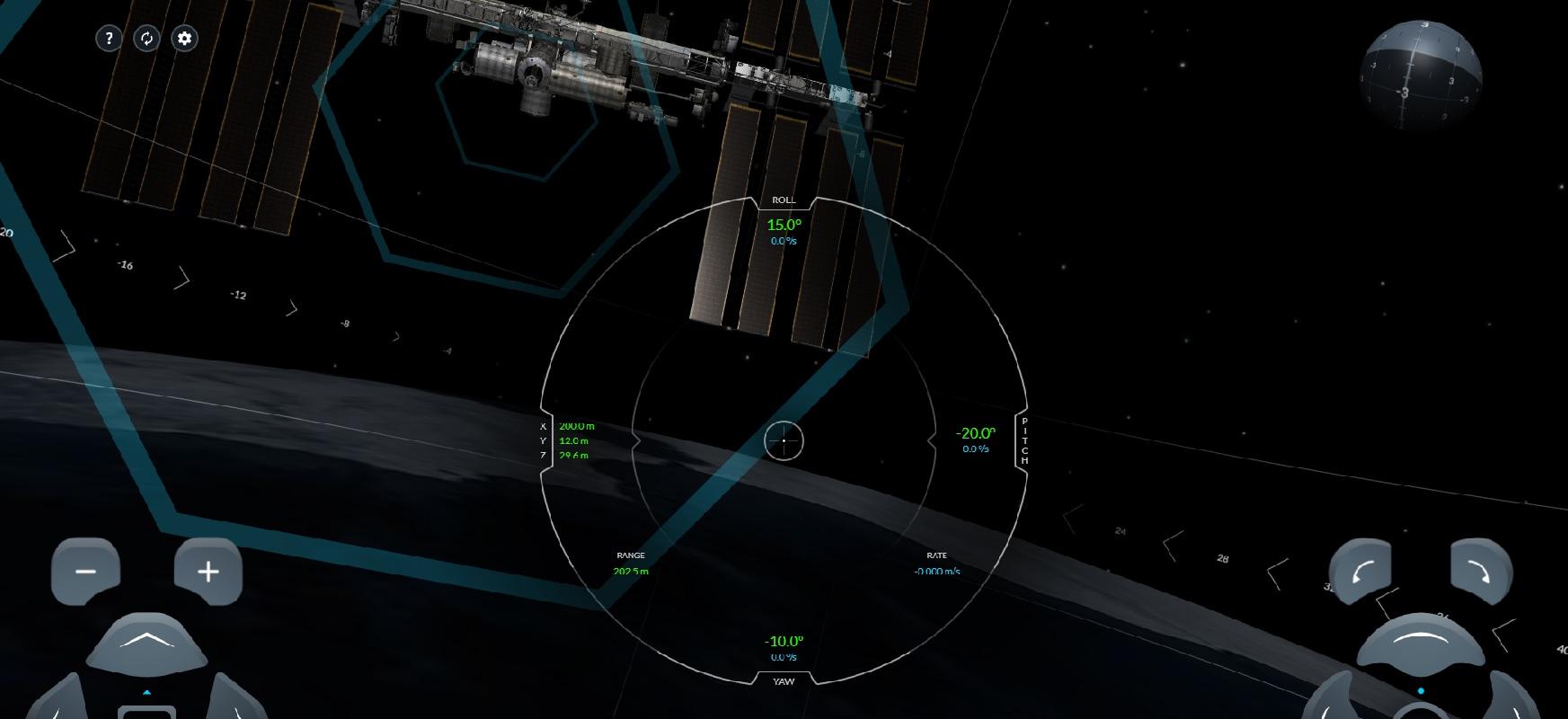 SpaceX-ek drago amarrarren simuladorea eskuragarri jarri du ISS-entzat.  Denek probatu dezakete