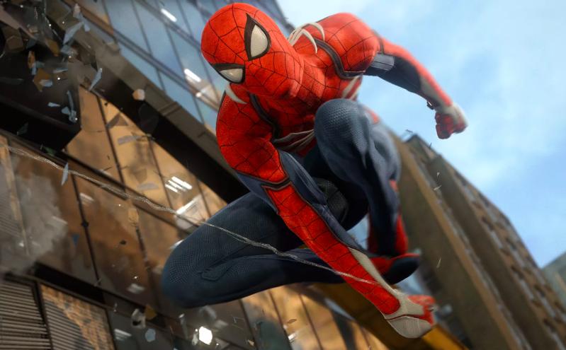 Spider-Man esklusiboarentzako PS4 esklusiboarentzako kaleratutako bideoa