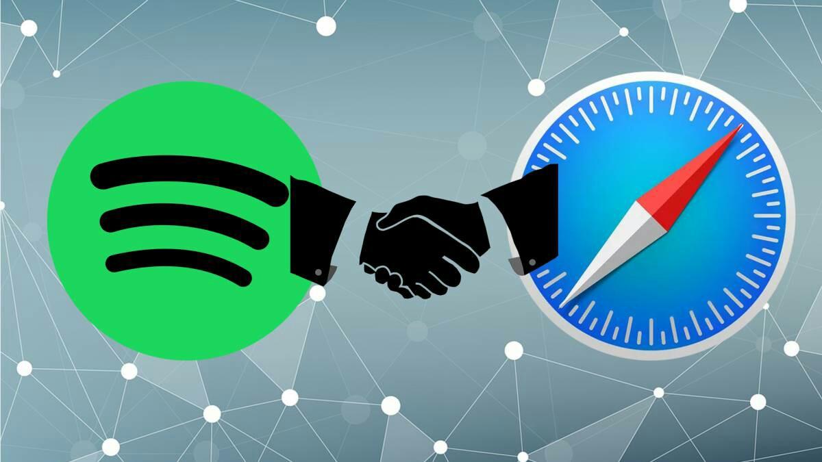 Spotify eta Apple ados: Safari laguntza itzuli da