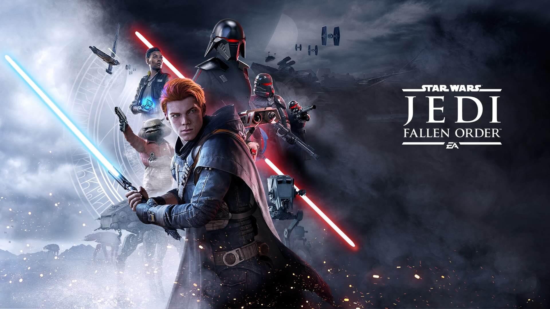 Star Wars Jedi eroritako ordena 2 lehenengo seinaleak erabiltzeko