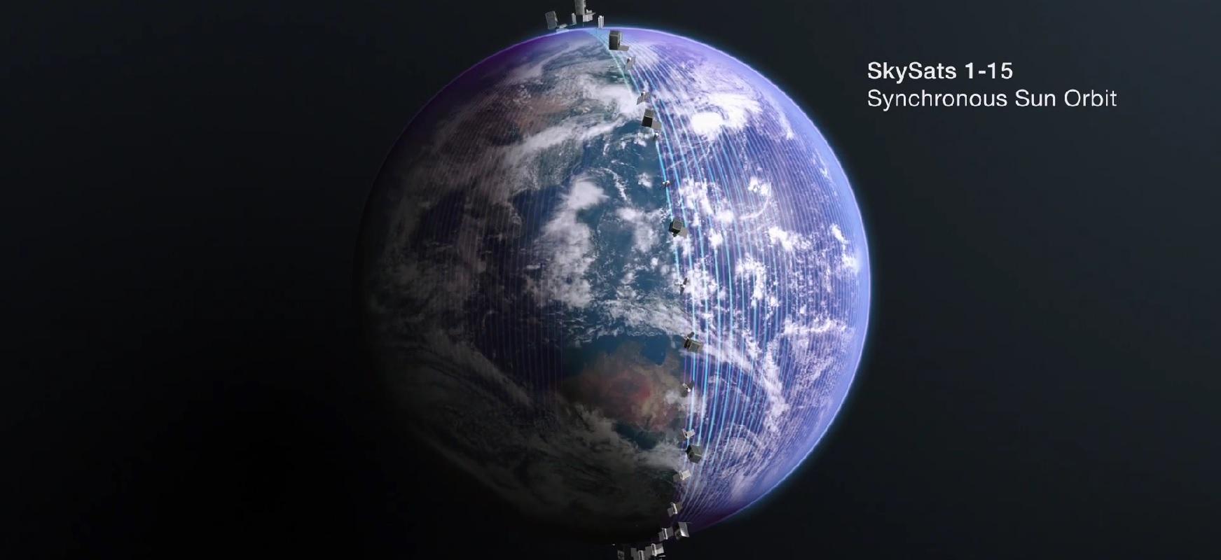 Starlinkik konpainia izango du.  SpaceX-k Lurrean sateliteak orbitara eramango ditu