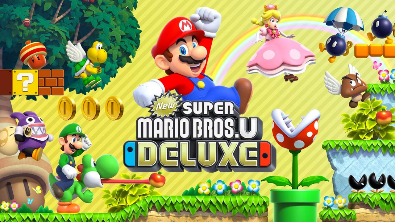 New Super Mario Bros. UDeluxe