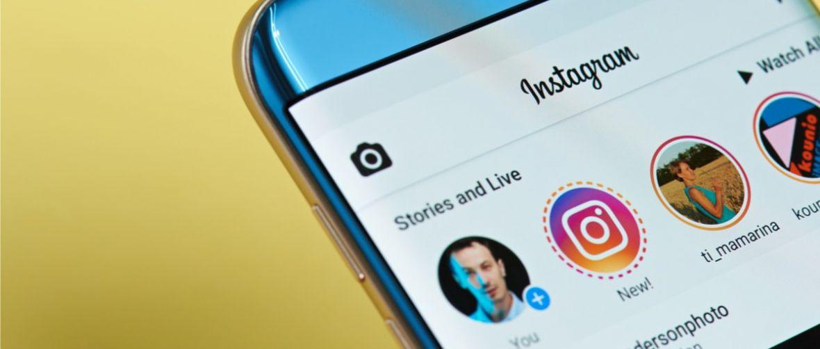 Telebistaren botoia Instagram aplikaziotik desagertu berri da.  Segur aski ez duzu erabili