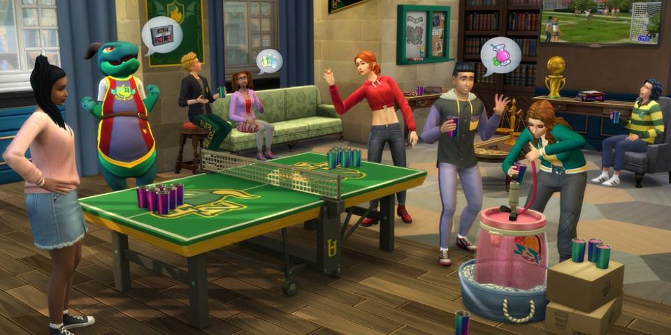 The Sims 4: Unibertsitatea berrikustea