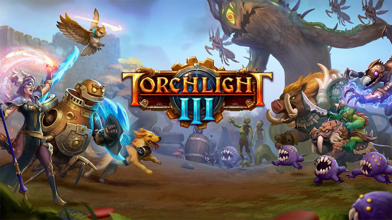 Torchlight III ofizialki iragarri da. 2020an joko du ordenagailuak