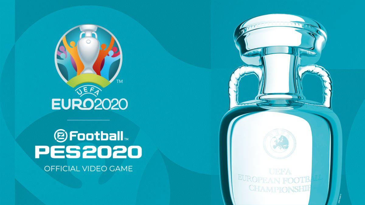 UEFA EURO 2020 eguneratzea PES 2020rako kaleratu da!