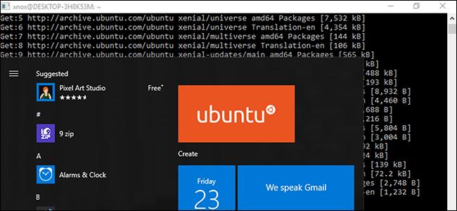 Ubuntu 18.04 LTS Microsoft dendan dago orain 1