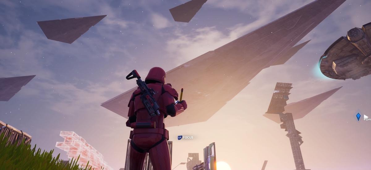 Egunkaria: barnean Star Wars-eko festara joan nintzen Fortnite.  Arraroa eta zirraragarria izan zen