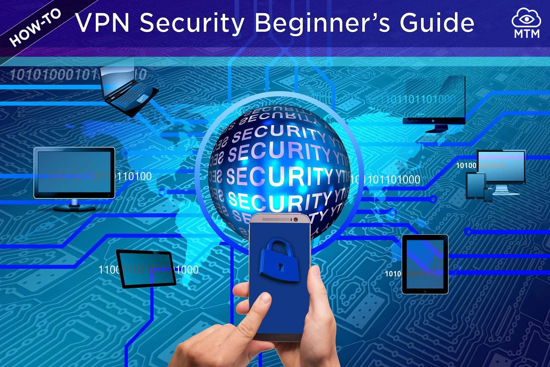 VPN konexioak seguruagoak egiteko hasiberrientzako gida