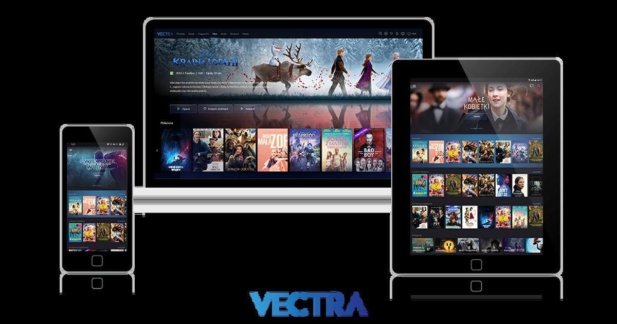 Vectra VOD TV Online - bideo eskaera zerbitzua linean ere eskuragarri dago