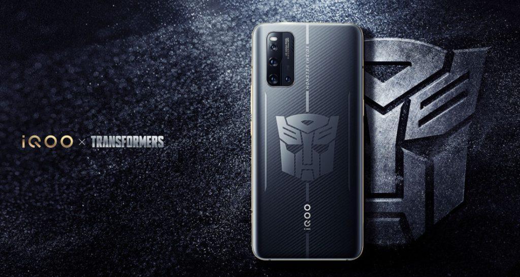 Vivo iQOO 3 5G Transformers Edition
