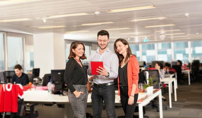 Vodafone Discover aplikazio gazteentzako talentu programa abian jarri zen