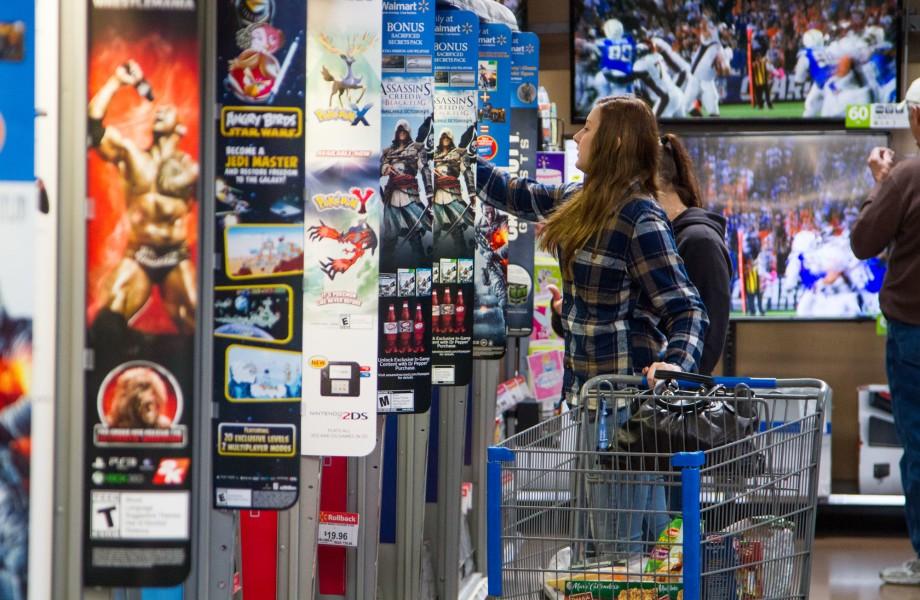 Walmart bideo jokoen iragarkiak kenduko al ditu?