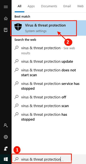 Windows 10-en MsMpEng.exe CPU erabilera nabarmen konpontzen