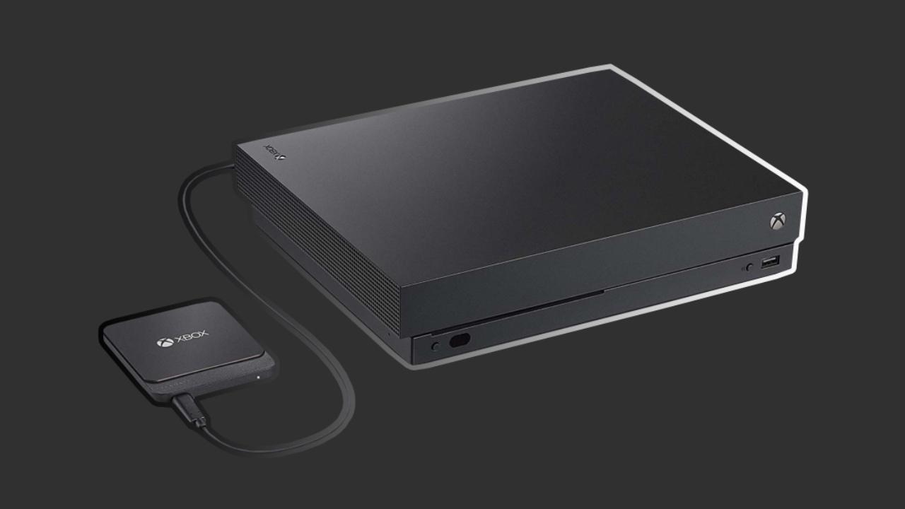 Xbox One X kitzikatzen duen SSD!