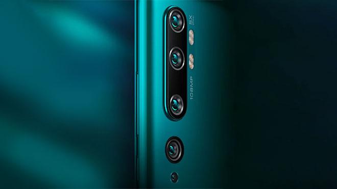 Xiaomi CC9 Pro soinuarekin etsita