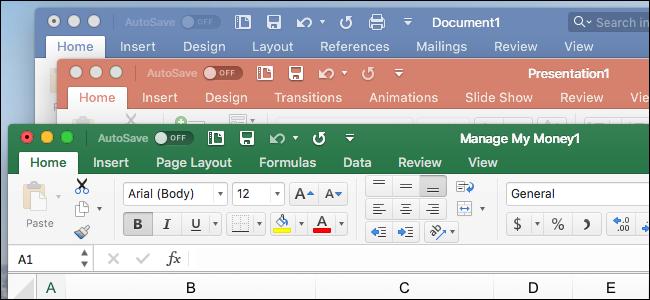 Zein da Microsoft Office-ren arteko aldea Windows eta macOS? 1