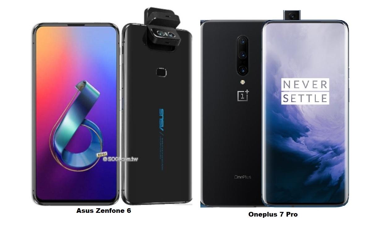 Zenfone 6 eta OnePlus 7 Pro kameraren konparazioa