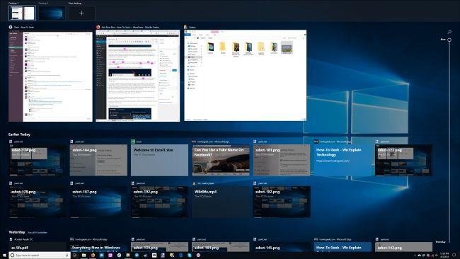 Zer da Windows 10 denbora-lerroa, eta nola erabiltzen dut? 3