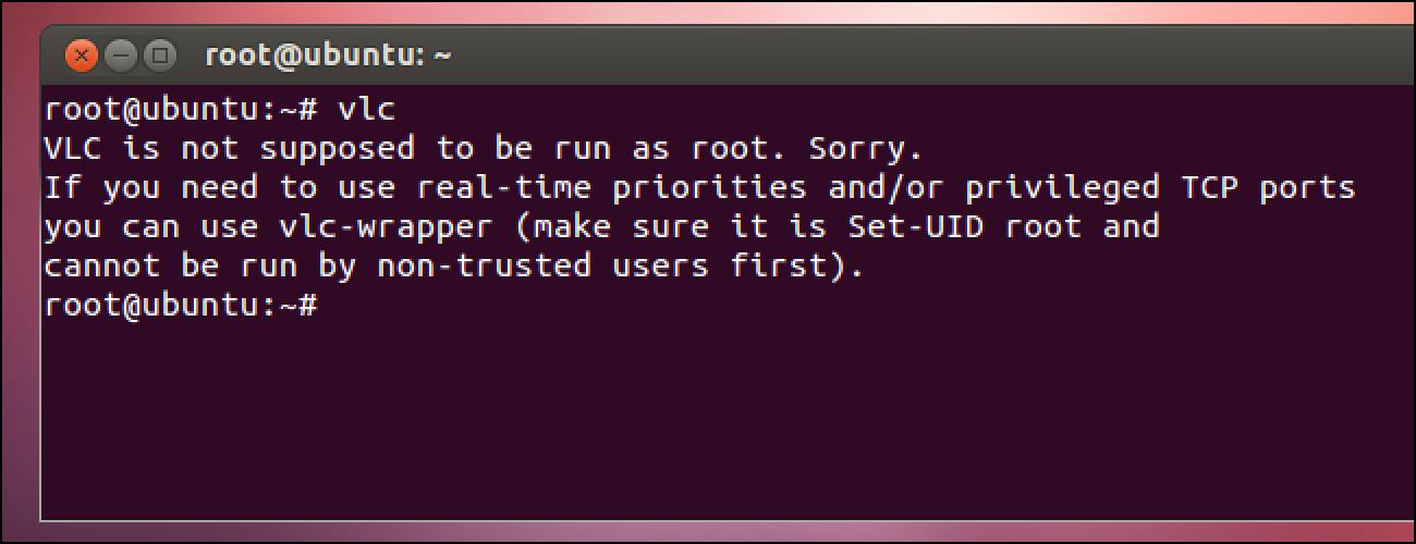 Zergatik ez zenuke sartu zure Linux sisteman root gisa