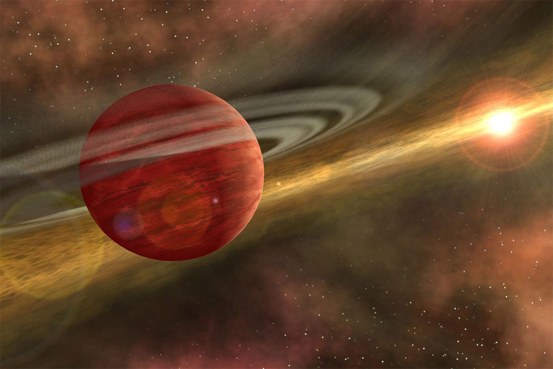 Zientzialariek aurkitu dute sortzen ari den planeta.  Hau da gazteek ikusi duten gertuko exoplaneta 1