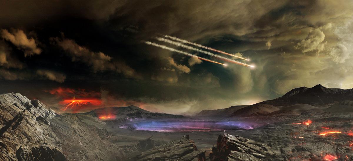 Zientzialariek bizitza sortzeko beharrezko elementuak aurkitu dituzte meteoritoetan