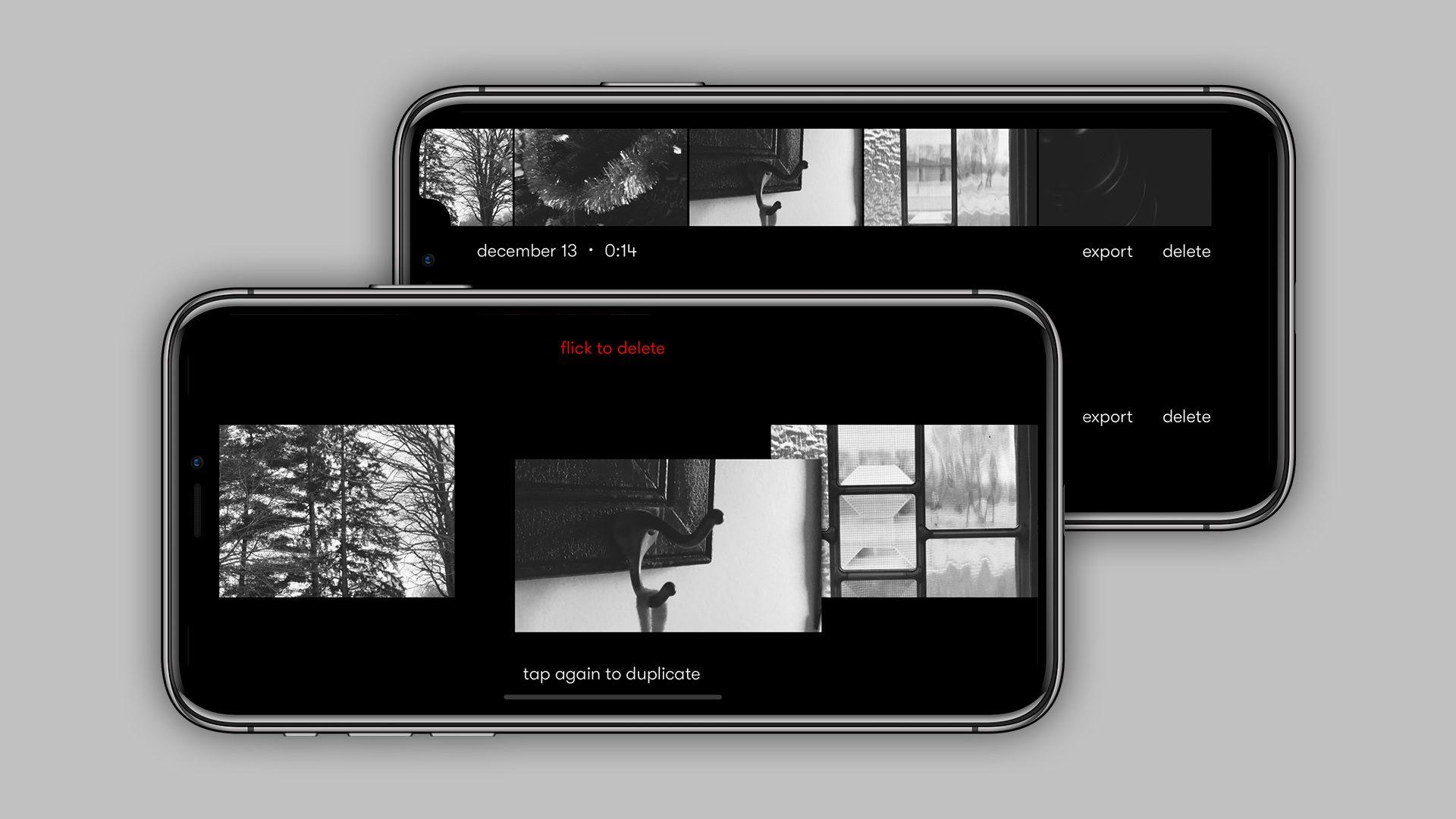 Zinema bideo aplikazioa iPhone: Nizo