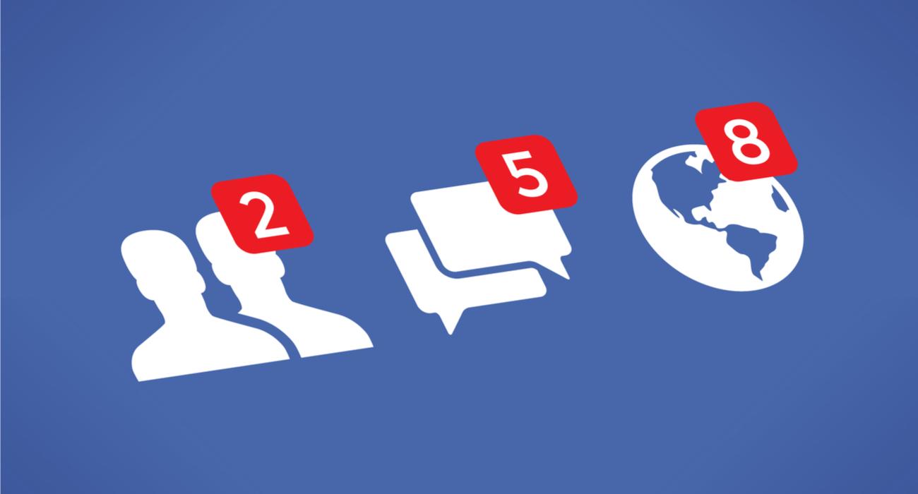 Zuria beltzean. Facebook interfazearen gai ilun berria probatzen ari da