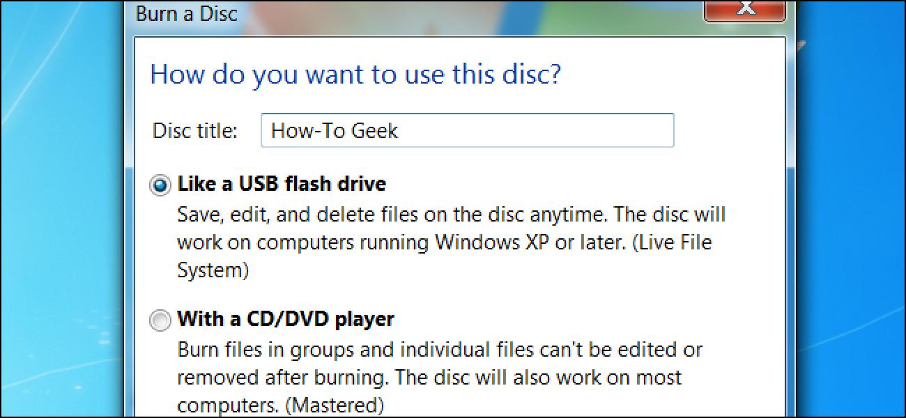 Zuzeneko fitxategi sistema vs menderatutako disko formatuak Windows
