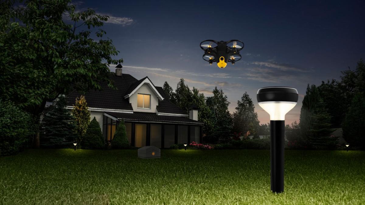 home babes-sistema bat garatu dute drone batera