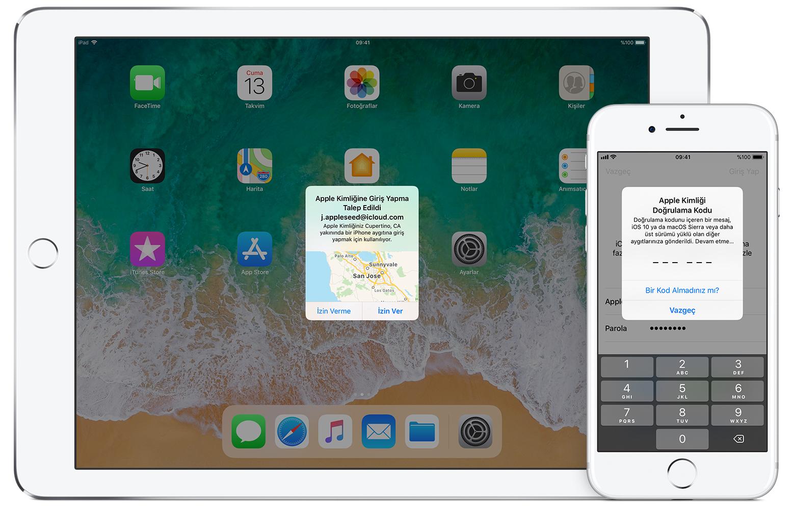 iOS 12k bi urratseko egiaztapen lana errazten du