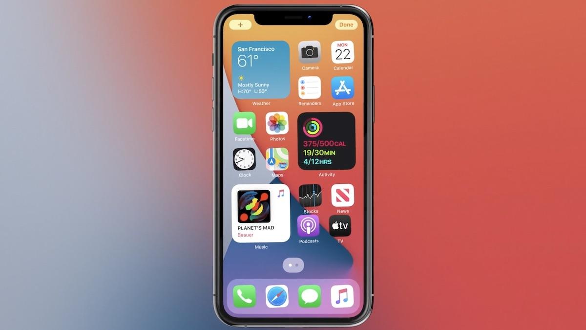 iOS 14-k ere iPhonearen atzealdea ukitzen du!