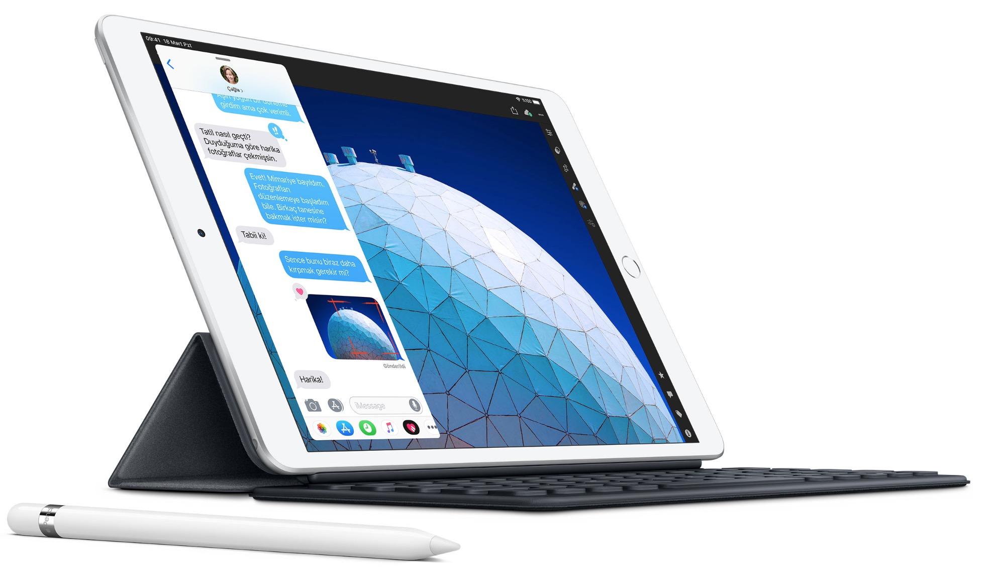 iPad Air 2019 Geekbench-en puntuek harrituta