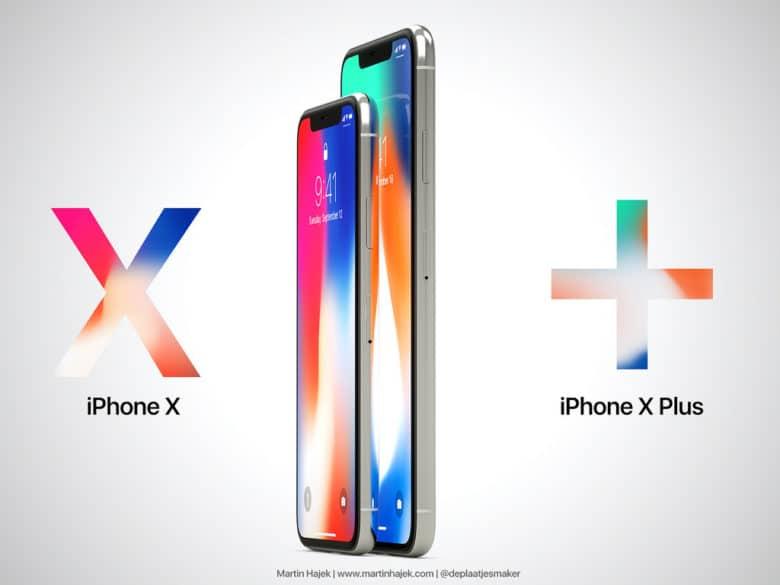 iPhone X Plus prezioa iragarri da