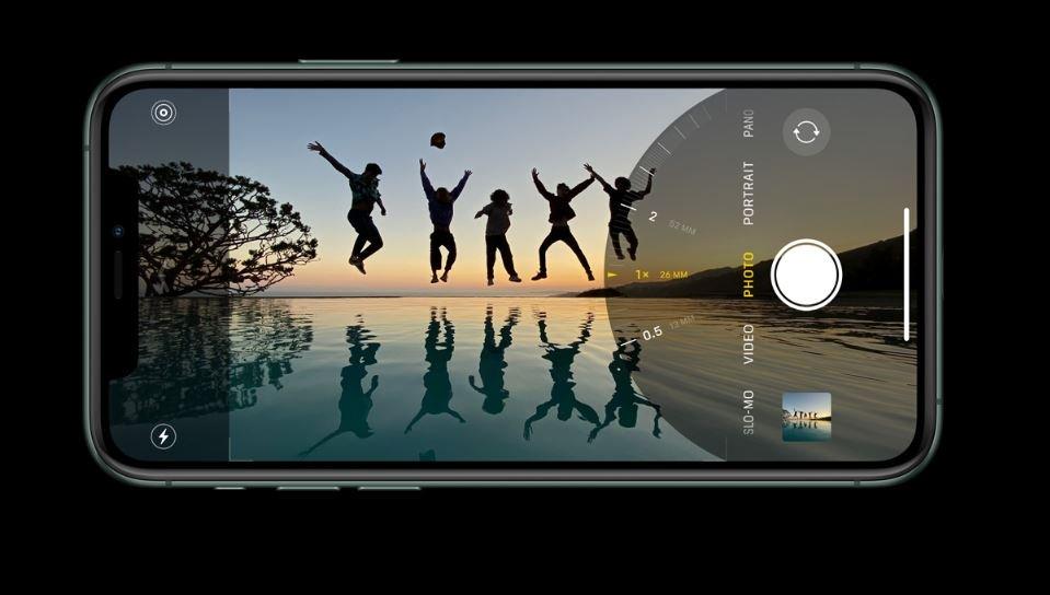 iPhone kamera iOS iOS 14rekin berdintzen da!
