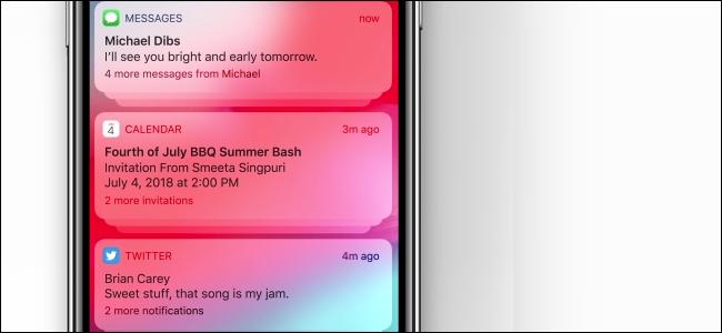 iPhonek iOS 12-n taldekatutako jakinarazpenak jasotzen ari dira 1