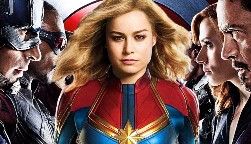kapitaina Marvel Lehenengo trailerra kaleratu du