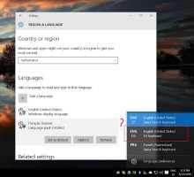 konponketa: Windows Automatikoki jarraitzen du EN-US teklatuaren diseinua gehitzen Windows 10